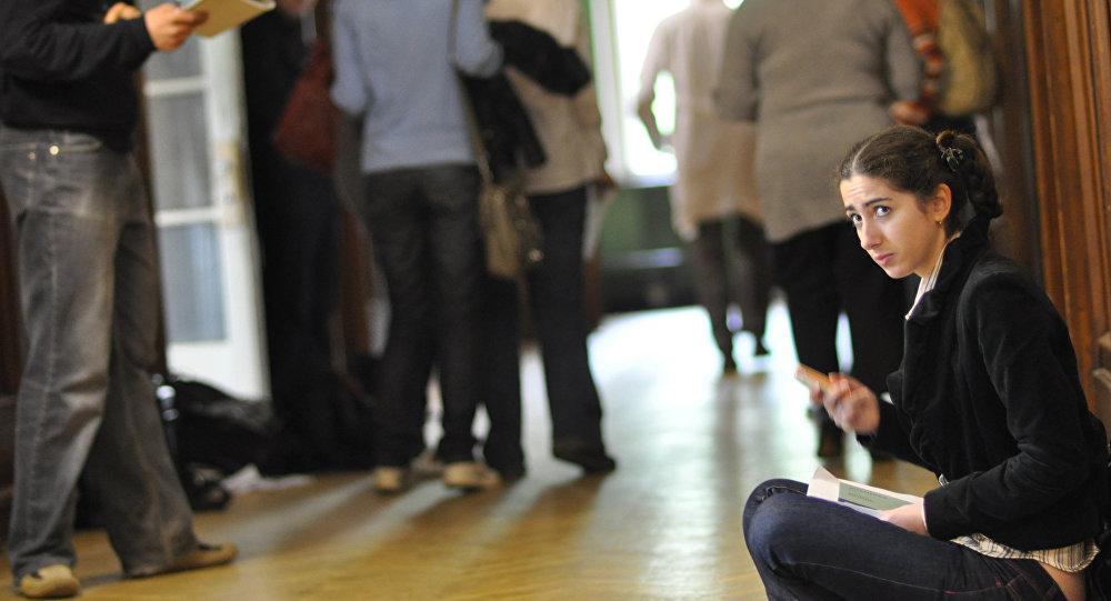 ظروف الامتحانات في جامعة موسكو الحكومية