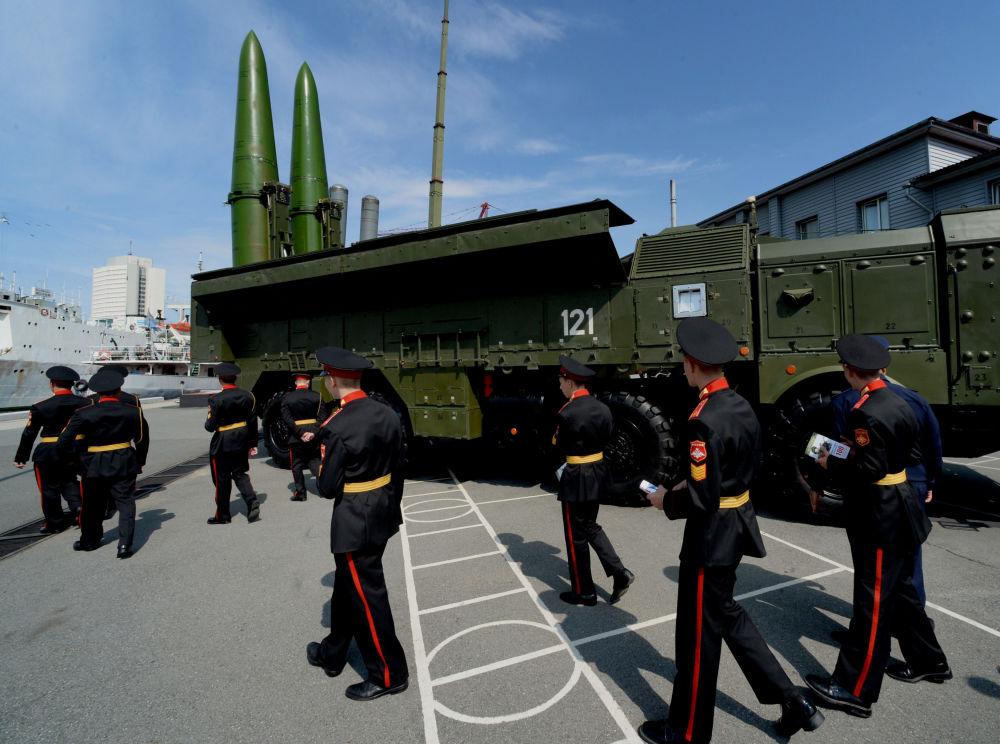 صواريخ إسكندر إم الروسية