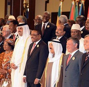 زعماء الدول العربية والإفريقية