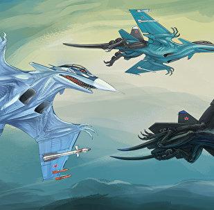 مقاتلات سوخوي سو-33، سو-34 وسو-47