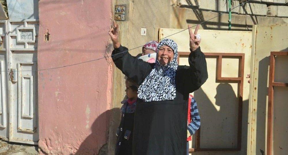 فرحة أهالي الموصل