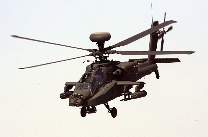 مروحية AH-64D أباتشي
