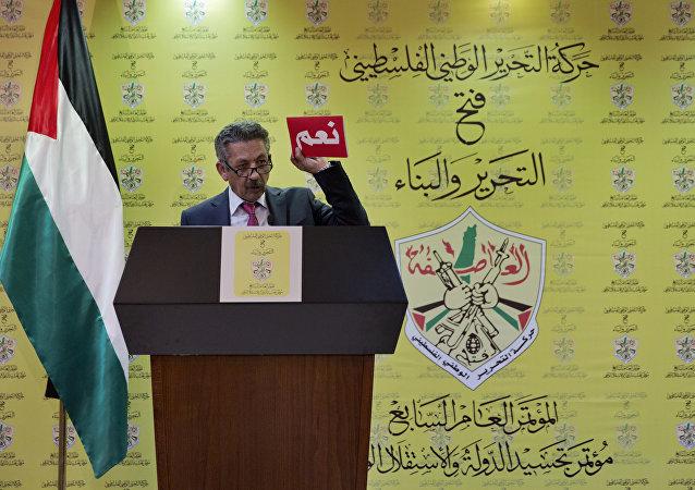 المتحدث الرسمي بمؤتمر فتح السابع محمود أبو الهيجا