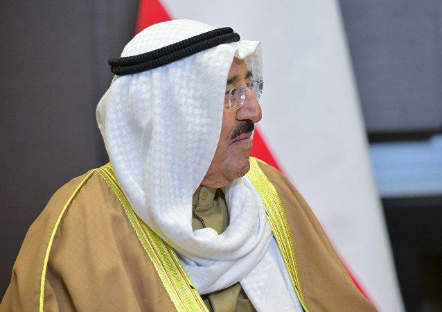 أمير دولة الكويت الشيخ صباح