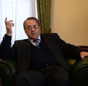 نائب وزير الخارجية الروسية، ميخائيل بوغدانوف