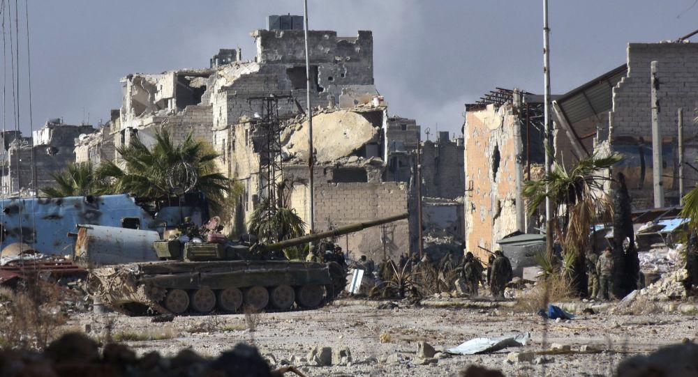الجيش السوري يتقدم في حي ميسّر شرق حلب، 4 ديسمبر/ كانون الأول 2016