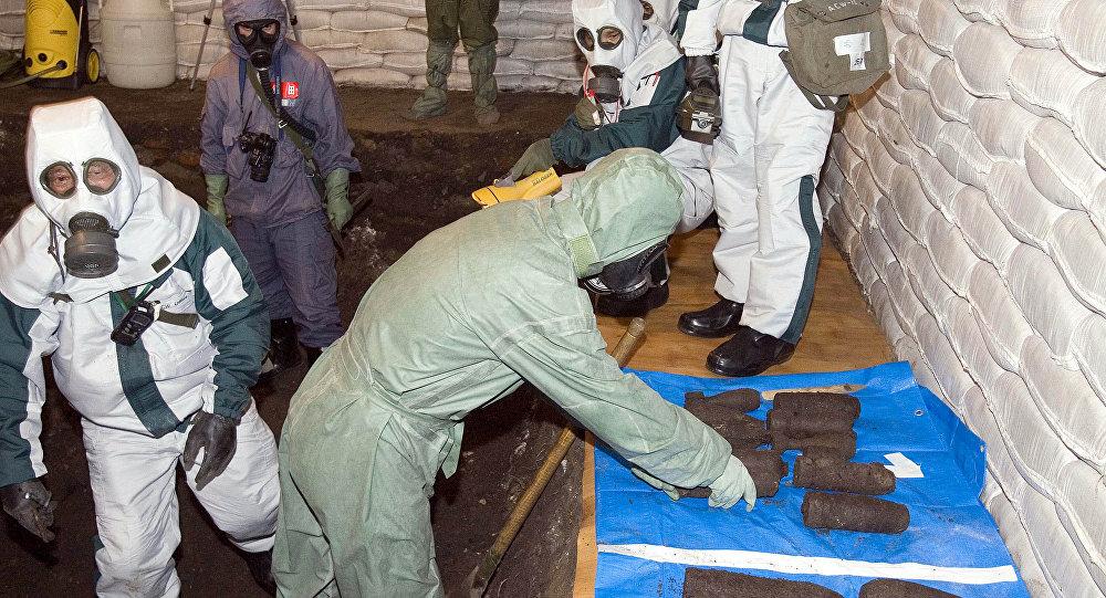 الأسلحة الكيميائية