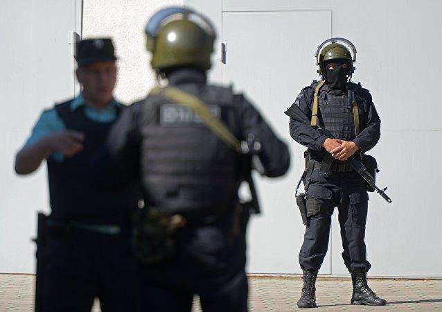 قوات الشرطة الروسية