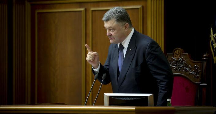 الرئيس الأوكراني بيوتر بوروشينكو