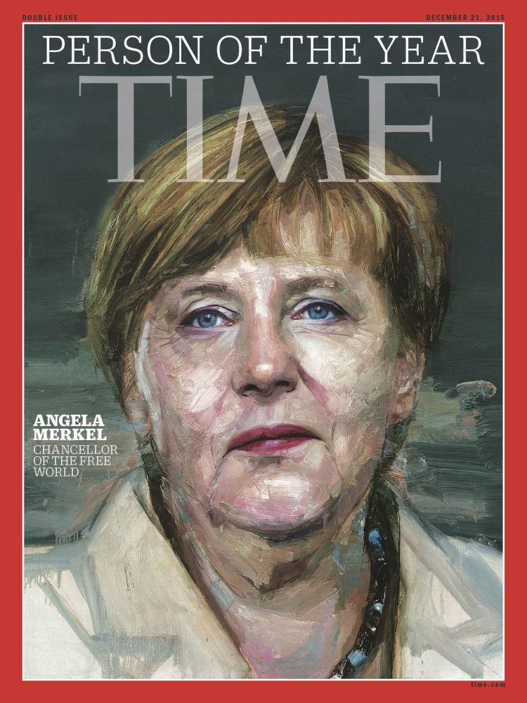 رجل العام لعام 2015 - مستشارة ألمانيا أنجيلا ميركل