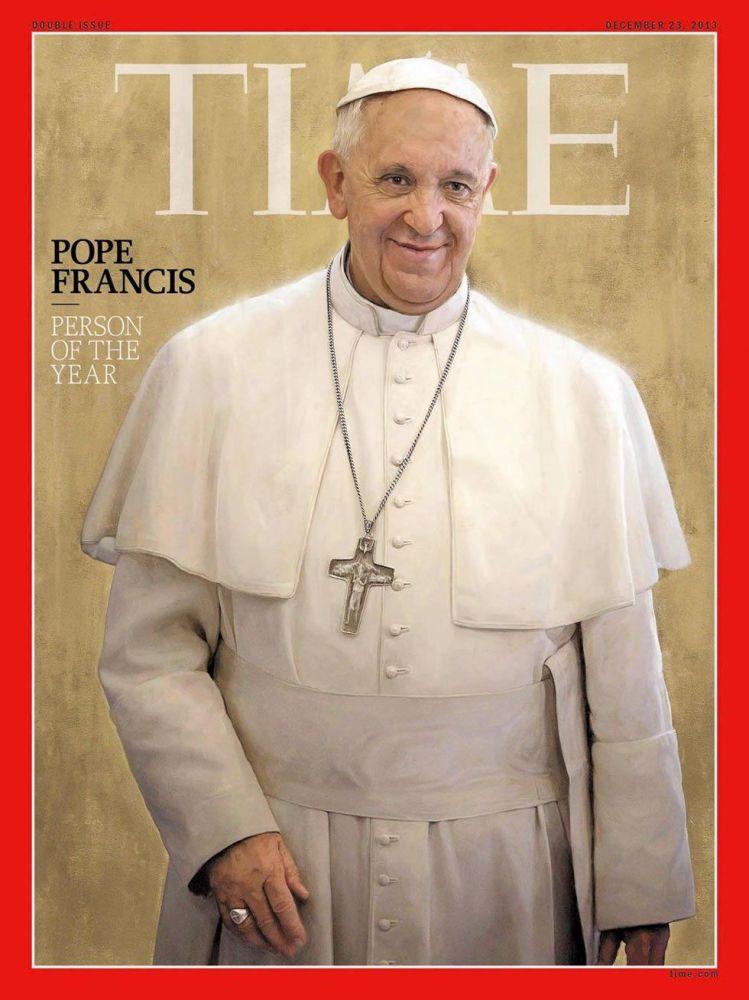 رجل العام لعام 2013 - بابا الفاتيكان فرانسيسك