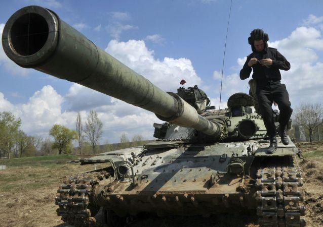 دبابة الجيش الأوكراني