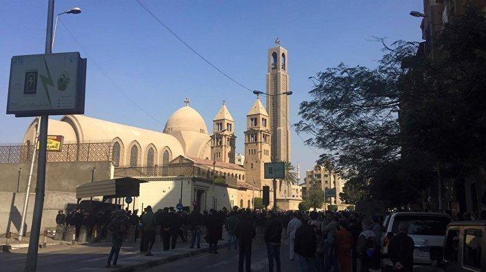 انفجار الكاتدرائية المصرية