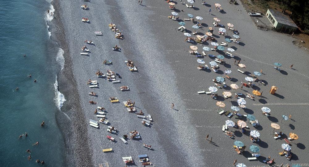 شاطئ البحر الأسود
