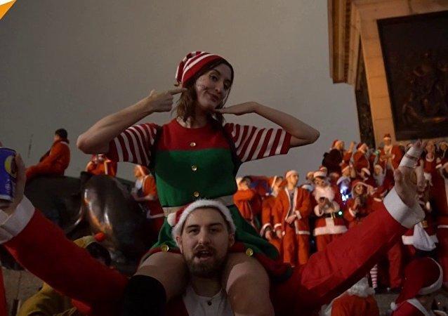 احتفالات سانتا كلوز