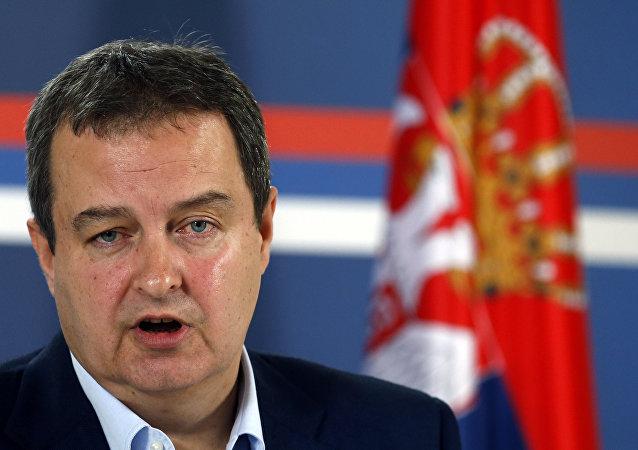 وزير الخارجية الصربية