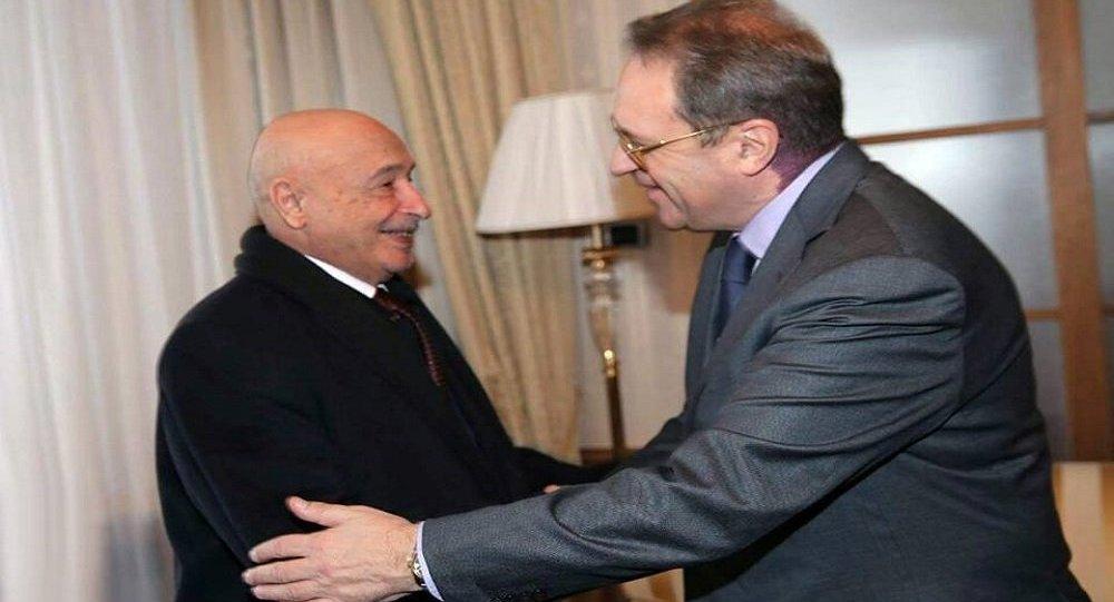 بوغدانوف يلتقي صالح