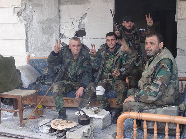 قوات الجيش السوري بحلب