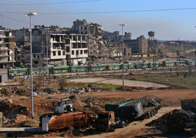 إجلاء المسلحين وعائلاتهم من حلب
