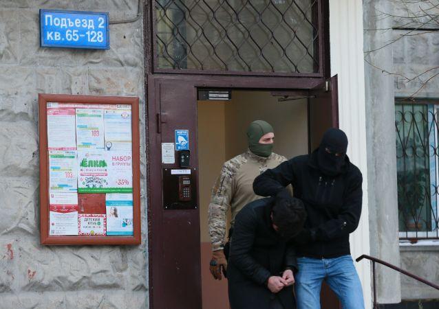 جهاز الأمن الروسي يعتقل مجموعة من المخربين كانول يخططون لسلسلة من العمليات الإرهابية في موسكو