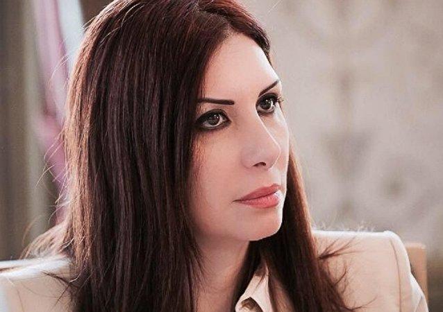 رئيسة لجنة مبادرة استانا، عضو وفد الديمقراطيين العلمانيين للمفاوضات السورية، رندا قسيس