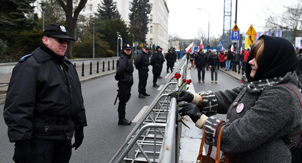 الشرطة في بولندا