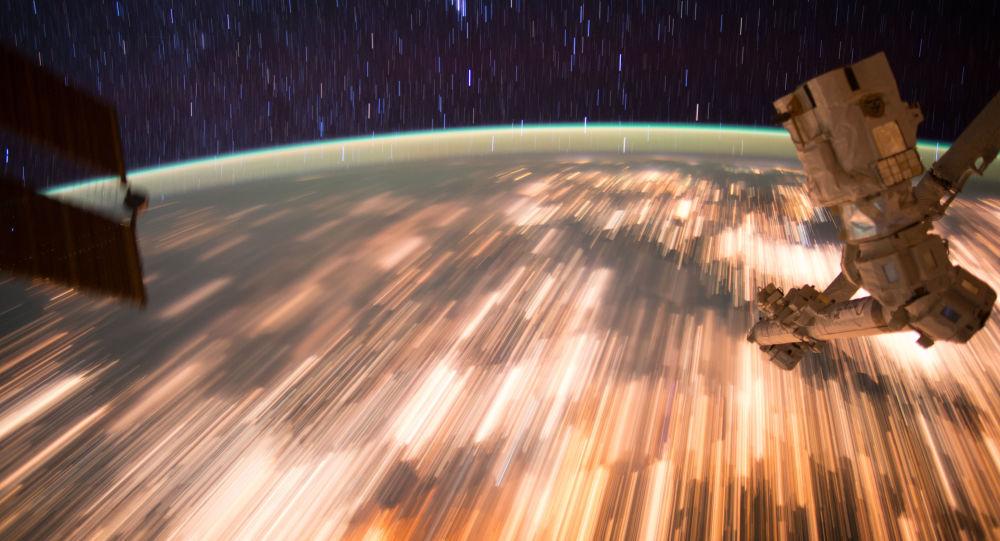 صورة لكوكب الأرض من على متن محطة الفضاء الدولية