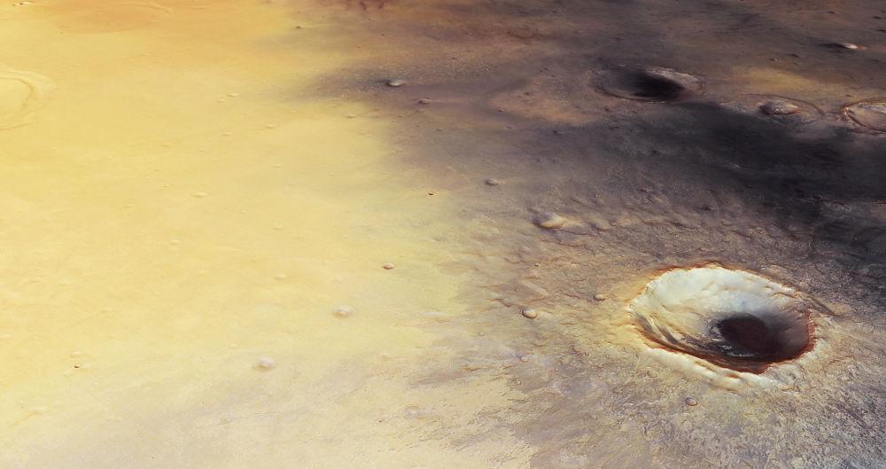 ميريدياني بلانوم 2 جنوب خط الاستواء لكوكب المريخ