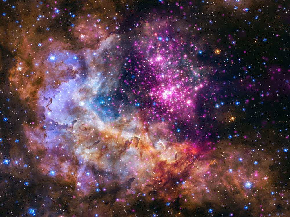 مجموعة من النجوم الشابة (أو الحديثة)
