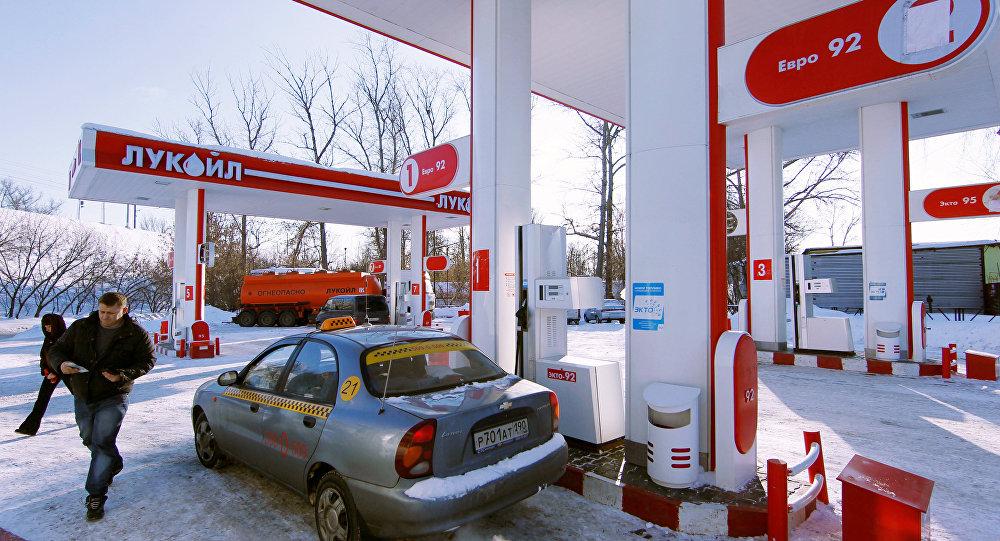 تجمد البنزين في روسيا