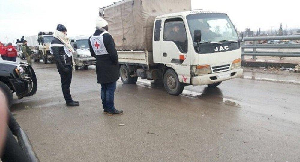 إخراج آخر دفعة من المسلحين مع عائلاتهم من حلب الشرقية