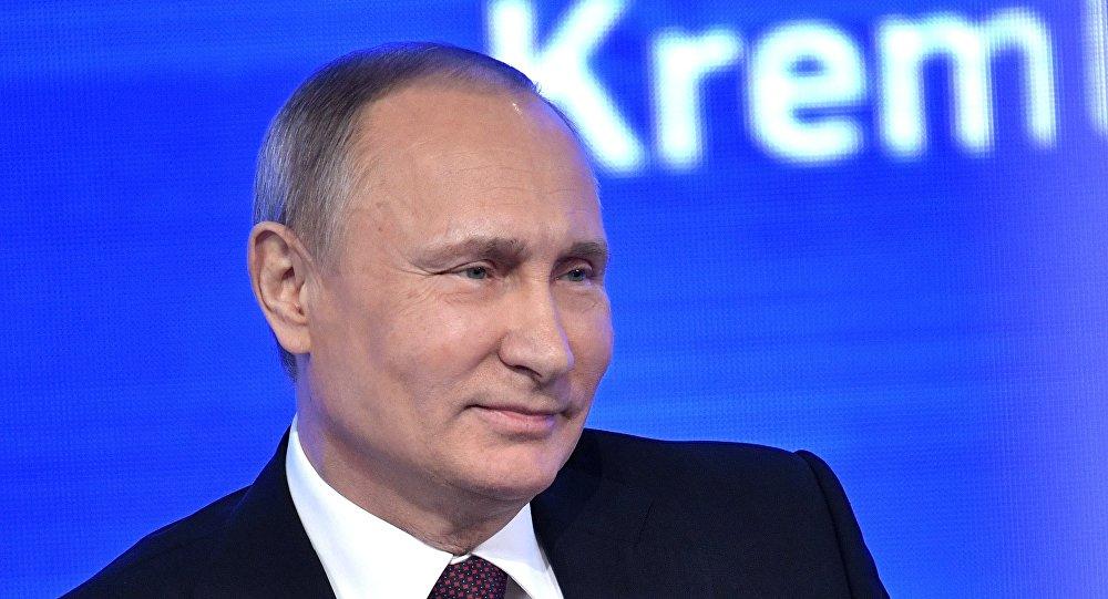 المؤتمر الصحفي السنوي للرئيس بوتين 2016