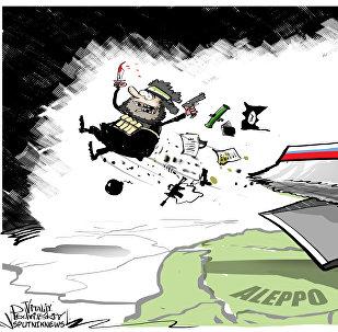 حلب خالية عن الإرهاب