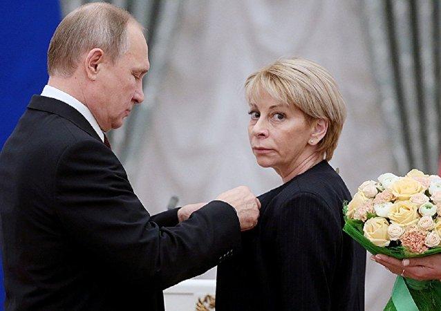 بوتين والدكتورة ليزا