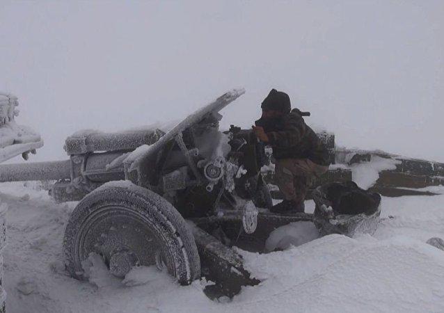 جندي سوري