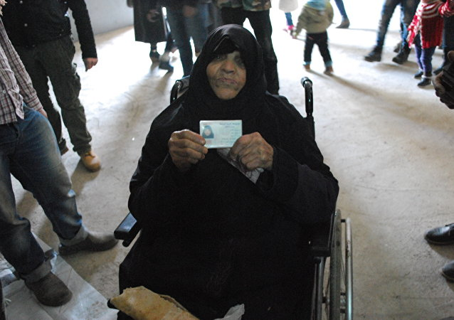 أكبر معمرة سورية