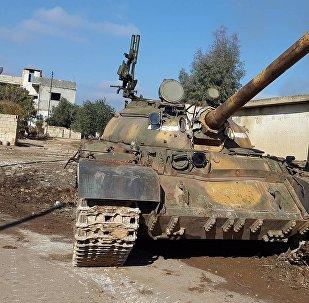 دبابة للجيش العربي السوري