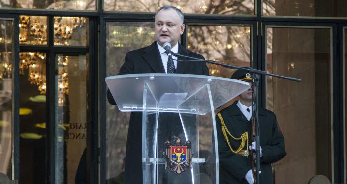 الرئيس المولدافي الجديد إيغور دودون
