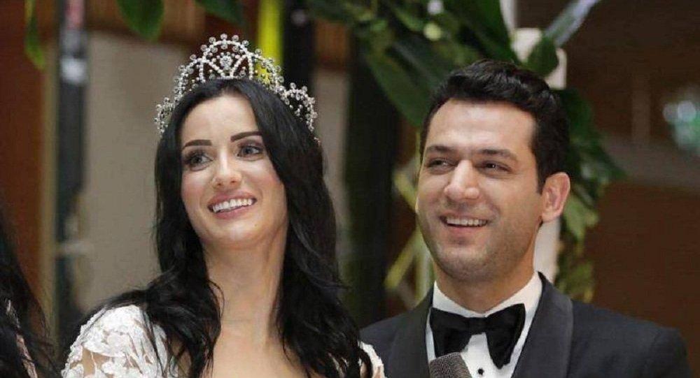 بالصور الفنان التركي مراد يلدريم يحتفل بزفافه على ملكة جمال