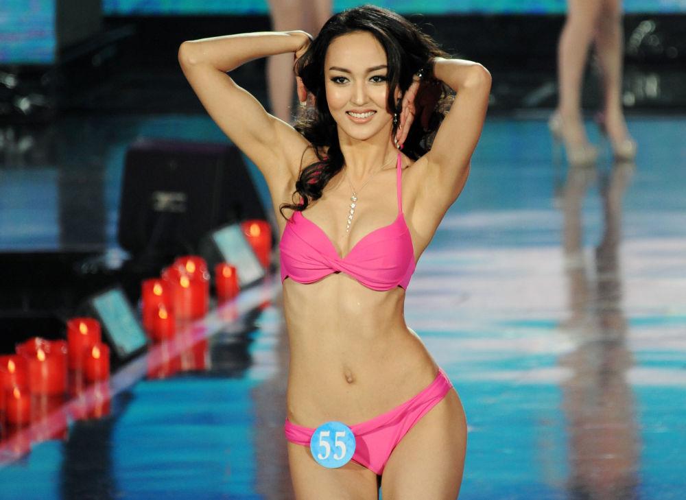مشاركة في مسابقة ملكة الثلج في الصين