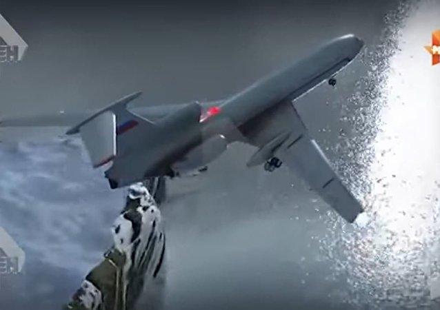 سقوط طائرة تو 154 الروسية