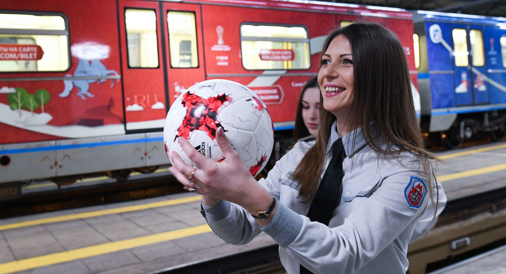 افتتاح قطار كأس القارات لعام 2017