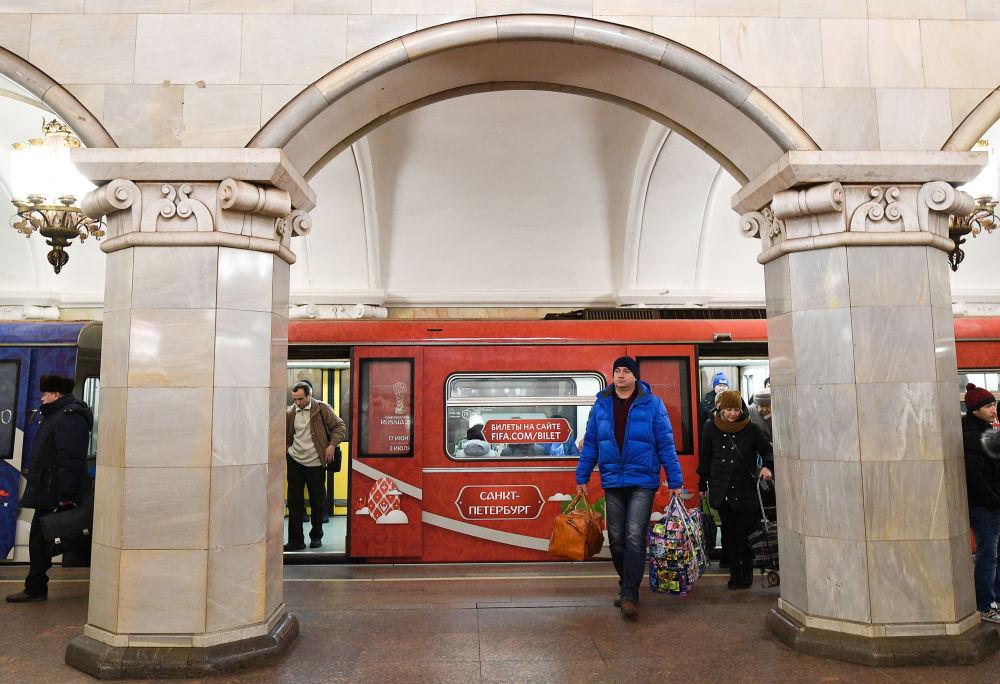 قطار كأس القارات في موسكو