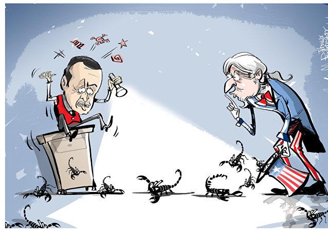 السحر ينقلب على أردوغان