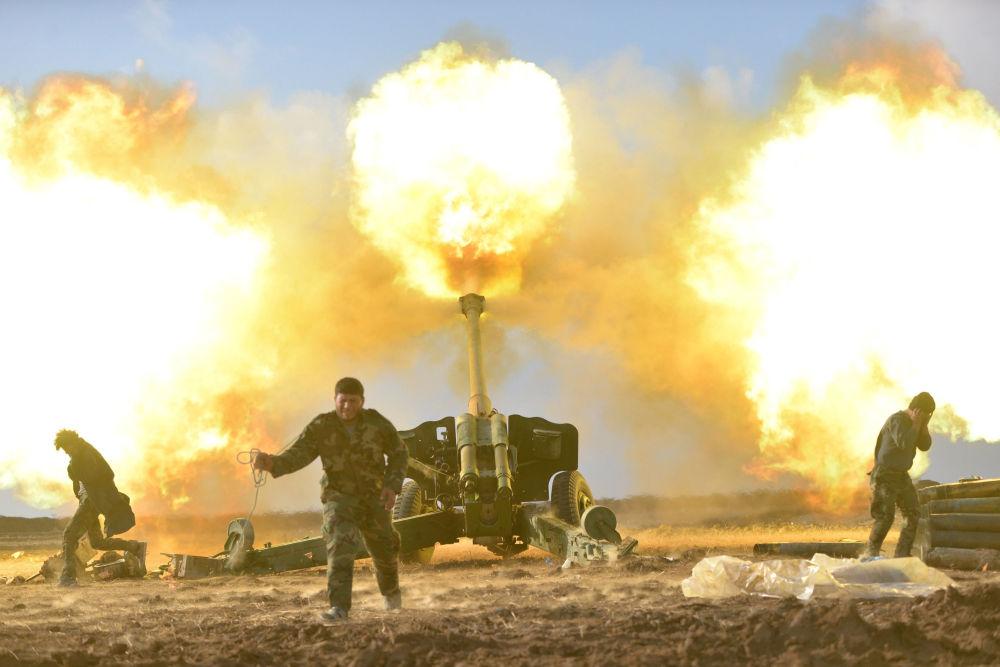 انطلاق معركة تحرير قضاء تلكيف شمال شرق الموصل