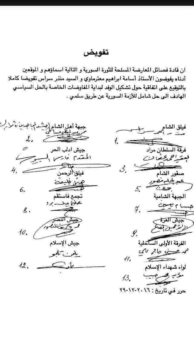 المعارضة السورية تتفق على تشكيل وفد للحل السياسي
