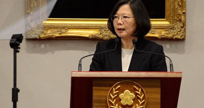 رئيسة تايوان تساي إينغ وين