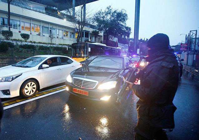 الاجراءات الأمنية بعد الحادص الإرهابي بإسطنبول