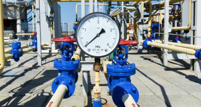 إحدى محطات ضخ الغاز التابعة لشركة النفط والغاز الوطنية الأوكرانية