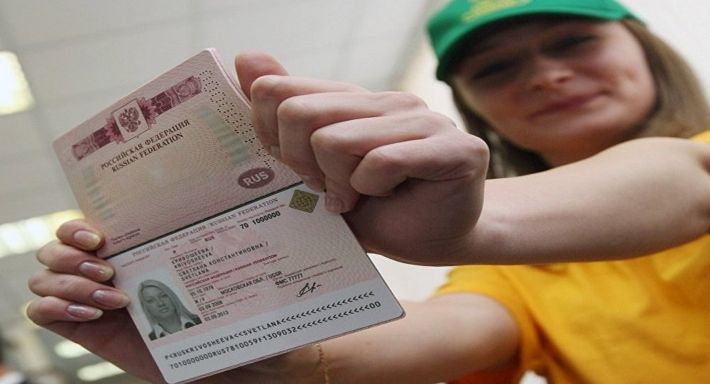 The issue of one millionth biometric passport